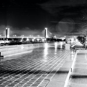 Foto aan de muur Zaltbommel By Night Waalkade | Brandwijk Fotografie